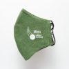 Mund-Nasen-Bedeckung in liturgischer Farbe grün